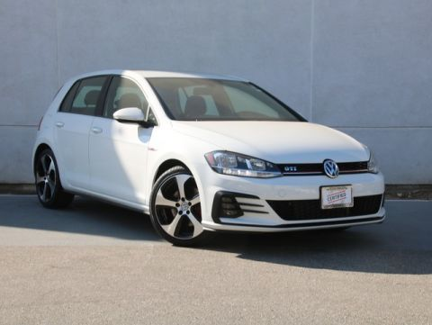 Certified Pre-Owned 2018 Volkswagen Golf GTI 2.0T S