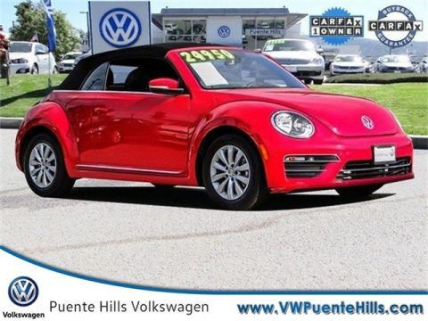 Pre-Owned 2019 Volkswagen Beetle Convertible 2.0T S